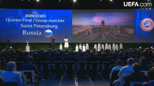 Евро 2020 в Санкт-Петербурге