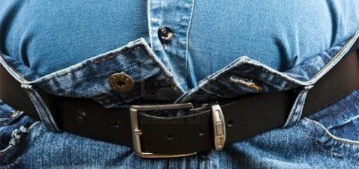 джинсы на толстых