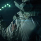 НЛО рядом с МКС. Пять огней