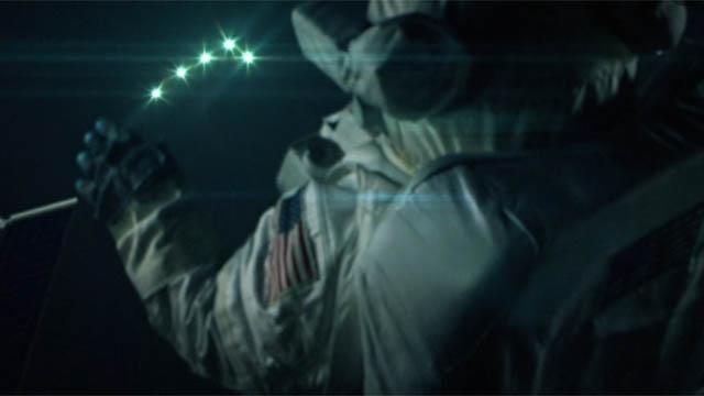 огни НЛО на МКС