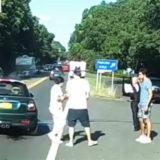 Ди Каприо на месте аварии (видео)
