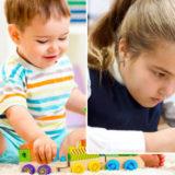 Детские игрушки. Развивающие и улыбающие