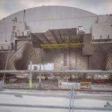 Возведение нового саркофага Чернобыльской АЭС (видео)