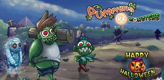 Pumpkin vs. Monsters обзор
