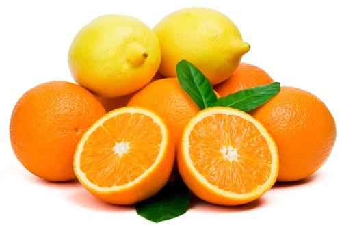 Апельсины и лимоны витамин C
