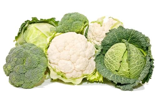 Брокколи, капуста и цветная капуста витамин C