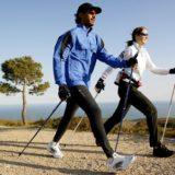 Скандинавская ходьба с палками: техника ходьбы