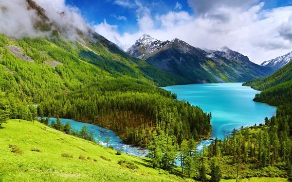Картинка Россия Горный Алтай Каракольские озёра