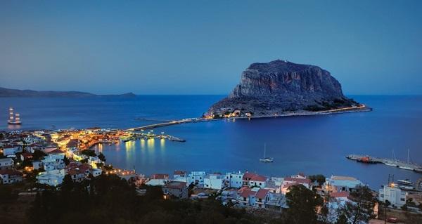 Монемвасия, Греция остров фото