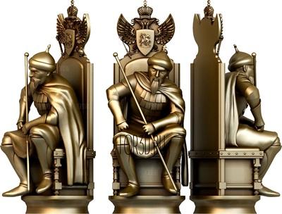 3д модели для чпу: шахматные фигуры