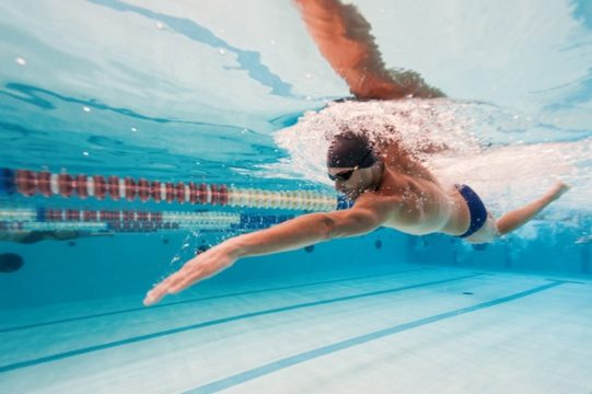 плавание спортсмен