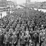 Как пленных немецких солдат водили по Москве