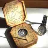 Карманные солнечные часы своими руками