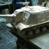 Модель танка своими руками