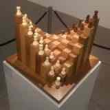 Необычная шахматная доска своими руками