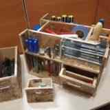 «Помогатор» или ящик для инструментов своими руками.