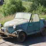 Реставрация мотоколяски
