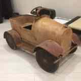 Реставрация педальной машинки