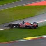 Русский пилот «Формулы-1» Даниил Квят разбил болид