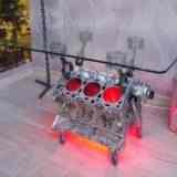 Стол из двигателя V6 своими руками