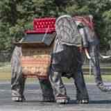 В США выставили на аукцион механического слона с двигателем Ford